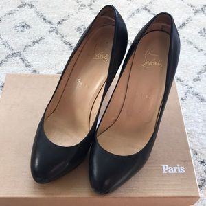 AUTHENTIC Christian Louboutin Black Heels